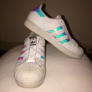 Psychedelic Adidas Superstars